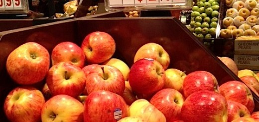Just found this on my phone...comparison shopping for apples. I wish I could say I'm embarrassed.