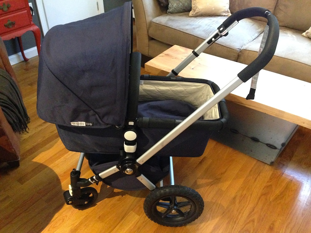 Our free hand-me-down stroller