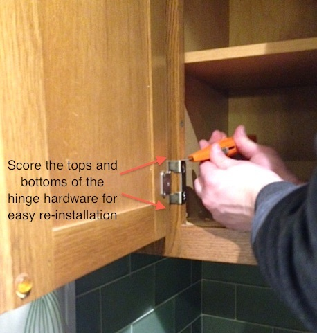 How to Refinish Kitchen Cabinets: Part 1 - Frugalwoods