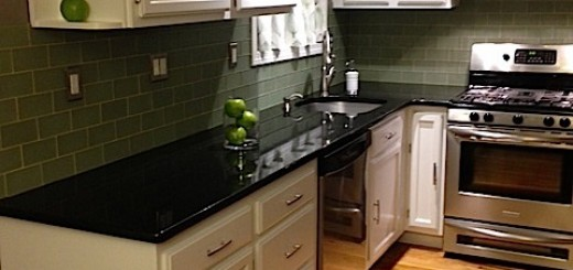 Radical Refinish Of Kitchen Cabinets