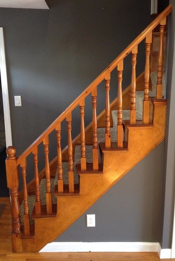 How To Refinish A Staircase For Under