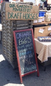 I'm sure these eggs are amazing, but for $8 a dozen, they better cook themselves