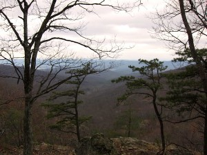 From one of our hikes up Beecher Ridge in Shenandoah National Park