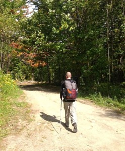 Mr. F on the Long Trail (VT)