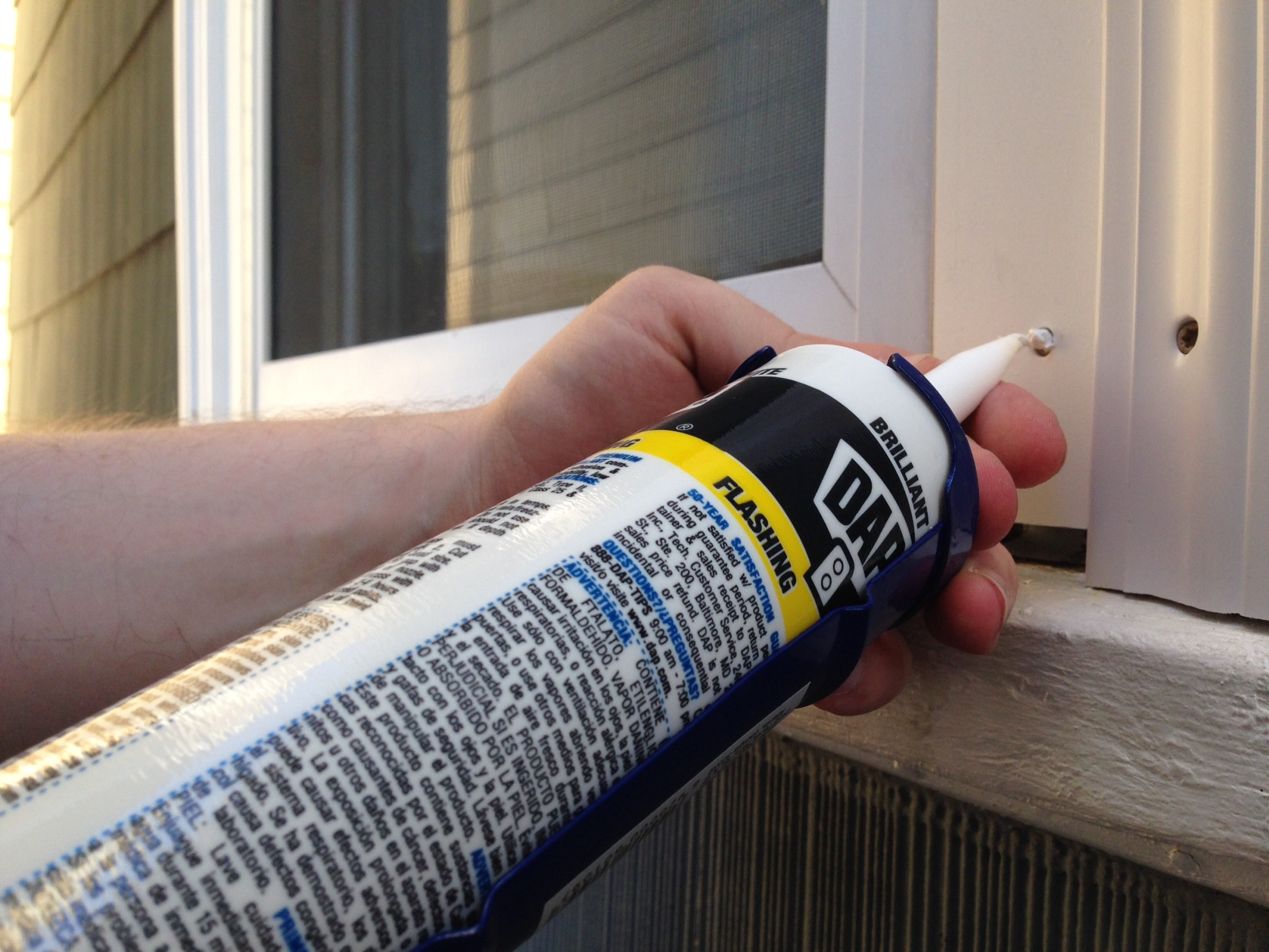 How to replace exterior window trim frugalwoods - Wood filler or caulk for exterior trim ...