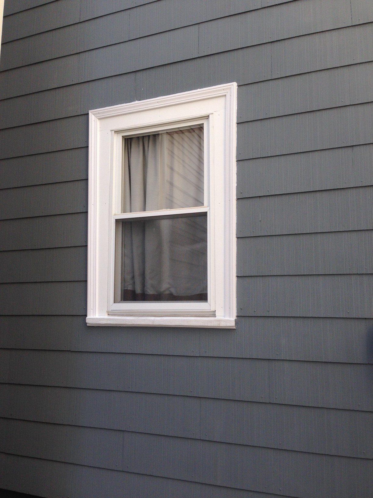 How to replace exterior window trim frugalwoods for Home on windows