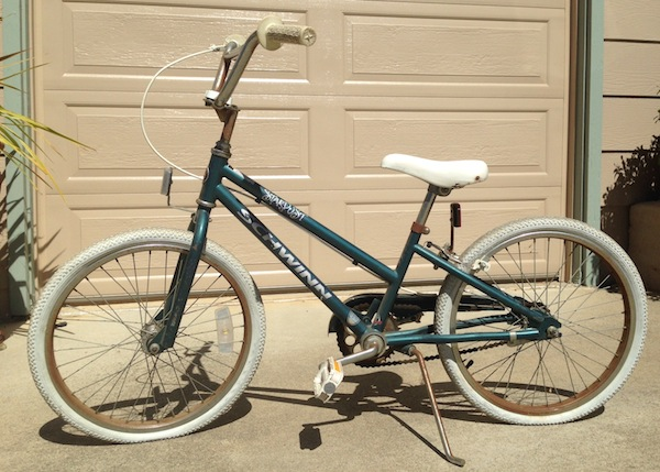 Totally functional bike for the kiddos