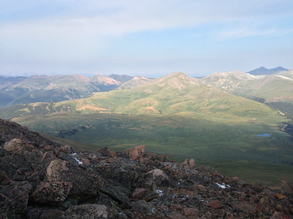 View from Mt. Bierstadt