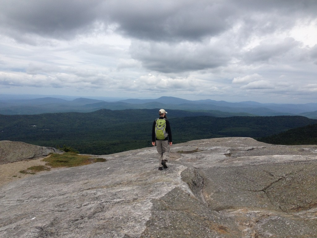 Mr. FW on Mt. Cardigan