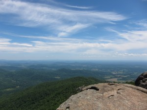 The view from the Old Rag summit