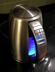 Kettle controls!