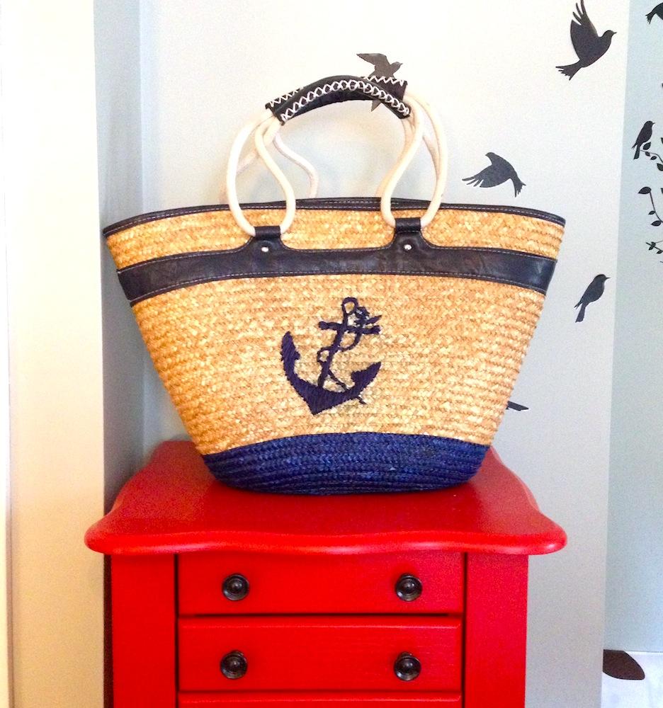 Ahoy! I'm a beach bag!