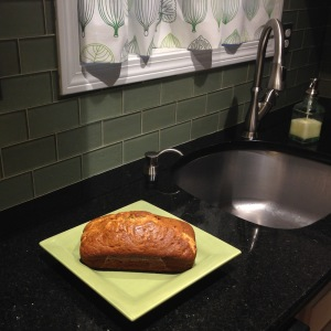 The banana bread that twitter helped me bake
