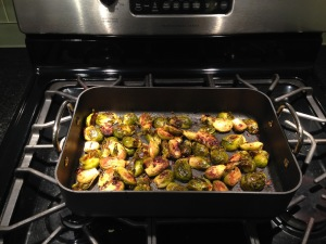 Mr. FW roasted Brussels Sprouts
