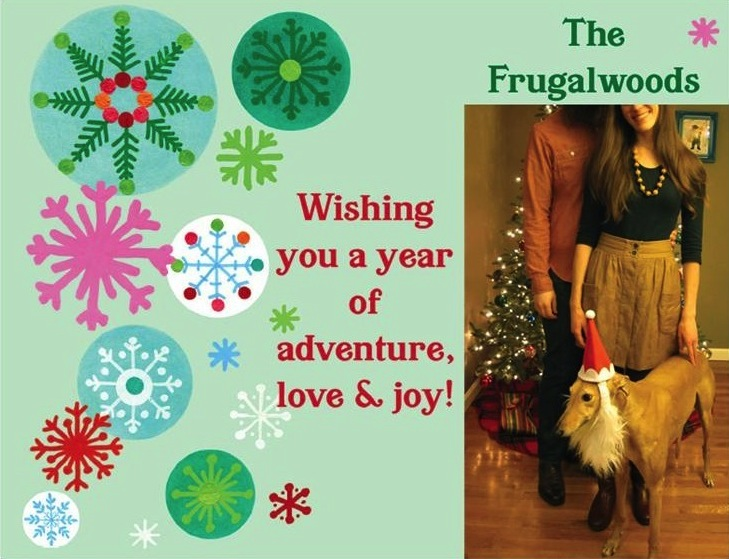 frugalwoods_christmascard - Cheap Christmas Cards Photo