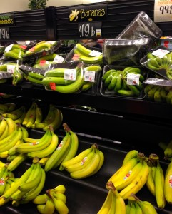 I know these bananas are the cheapest!