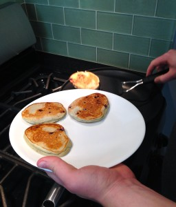 Mmmm pancakes