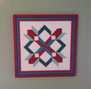 Random quilt art
