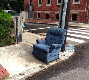 It was pretty easy to dismiss this trash chair on sight
