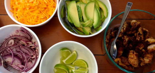 A delightful homemade taco spread we had the other week. My goal is to eat this again in the near future...