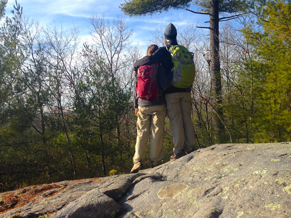 Hiking together is our idea of a perfect gift.