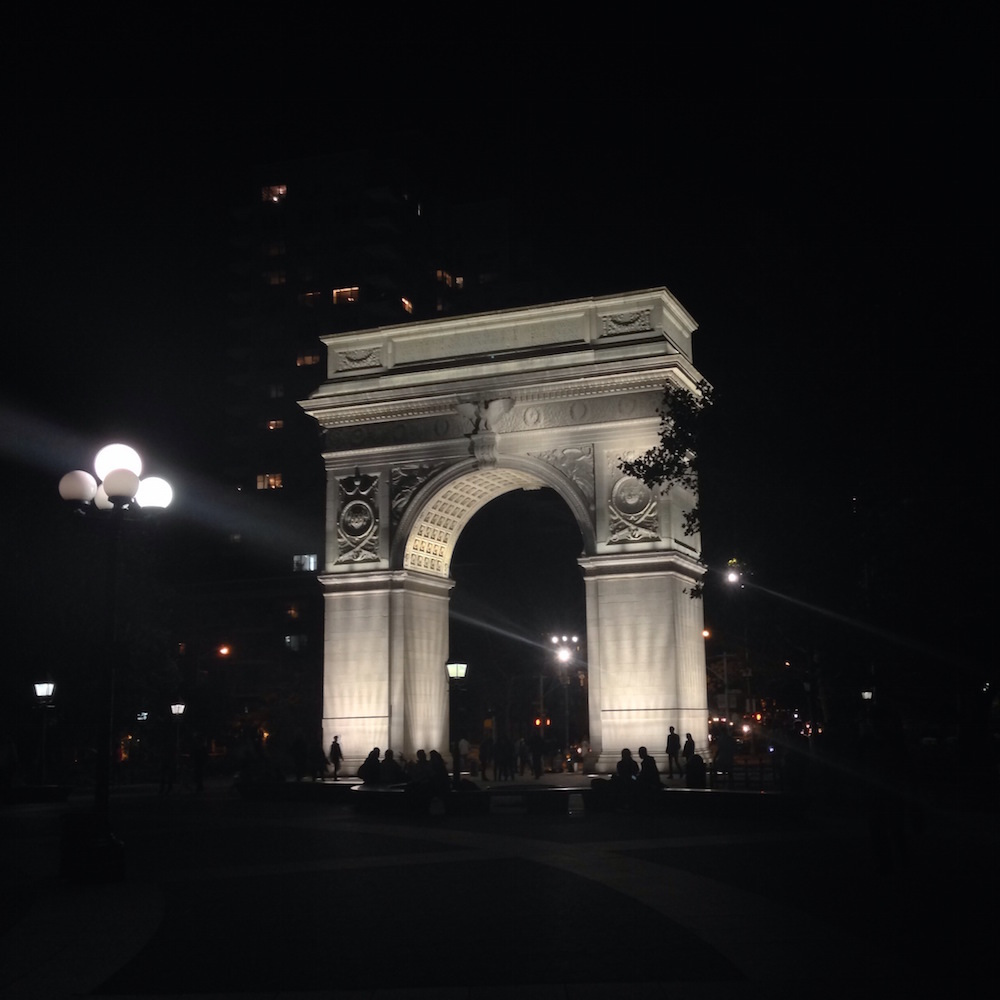 My art photo of Washington Sq Park from our trip to NYC this month