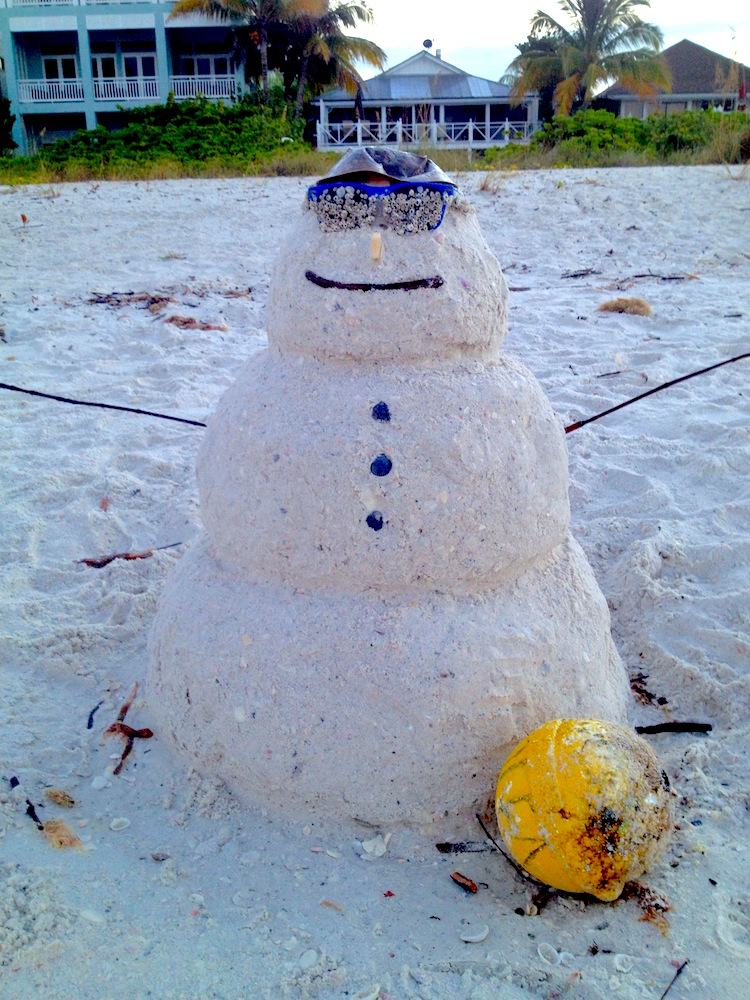 We don't do snowmen in FL...