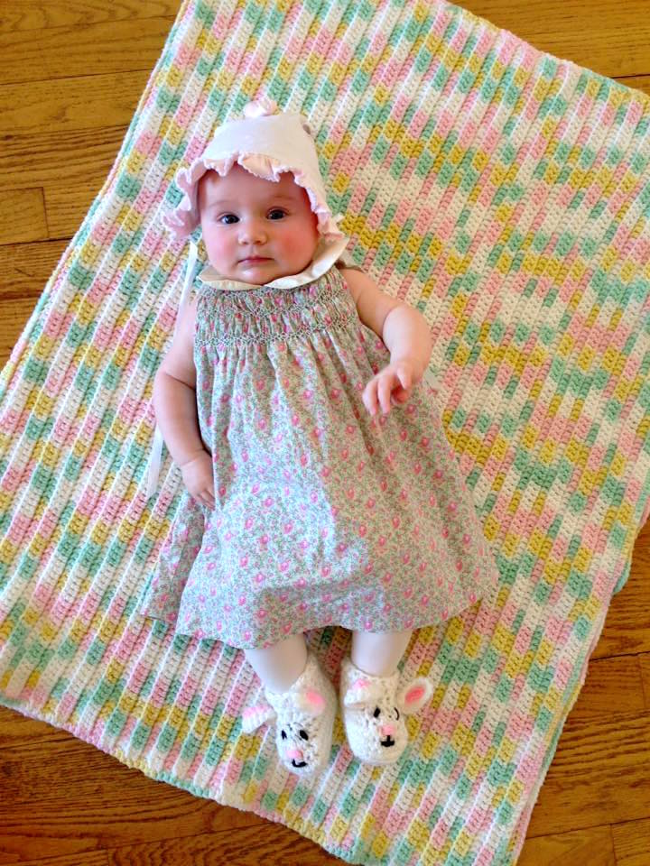 Babywoods' first Easter!