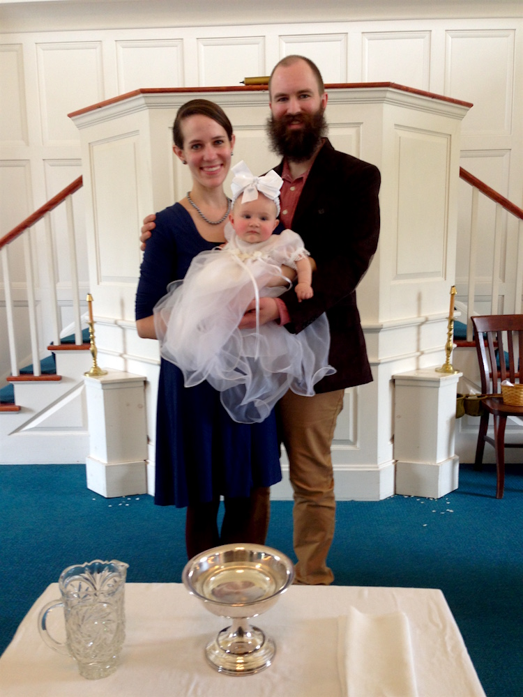Babywoods' baptism