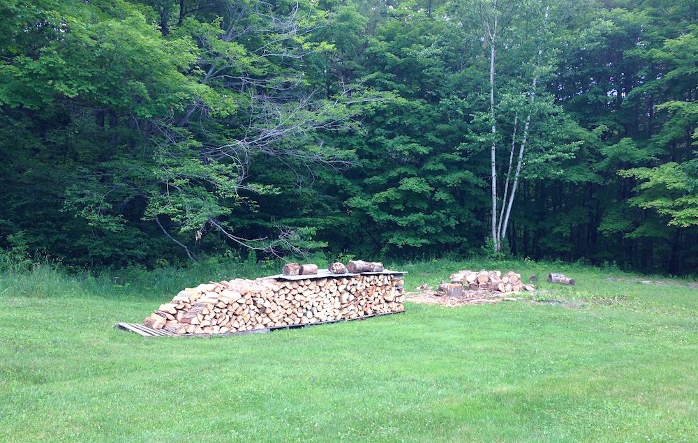 Our woodpile grows...