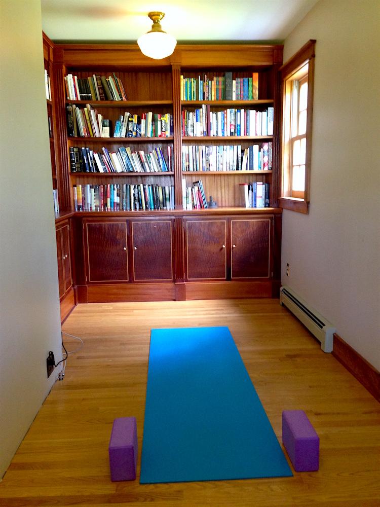 My permanently open yoga mat