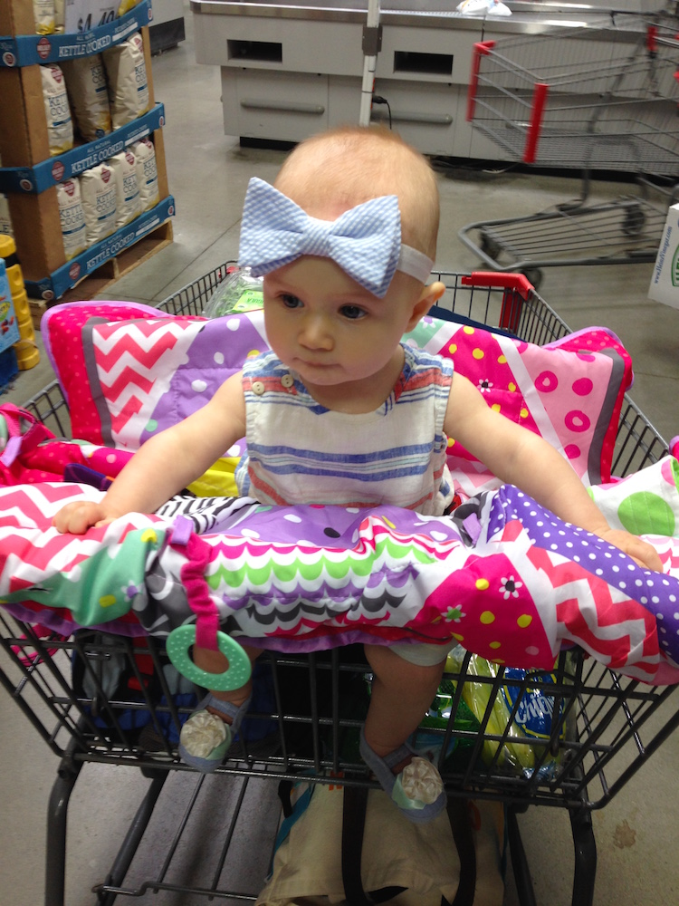 My grocery shopping helper.