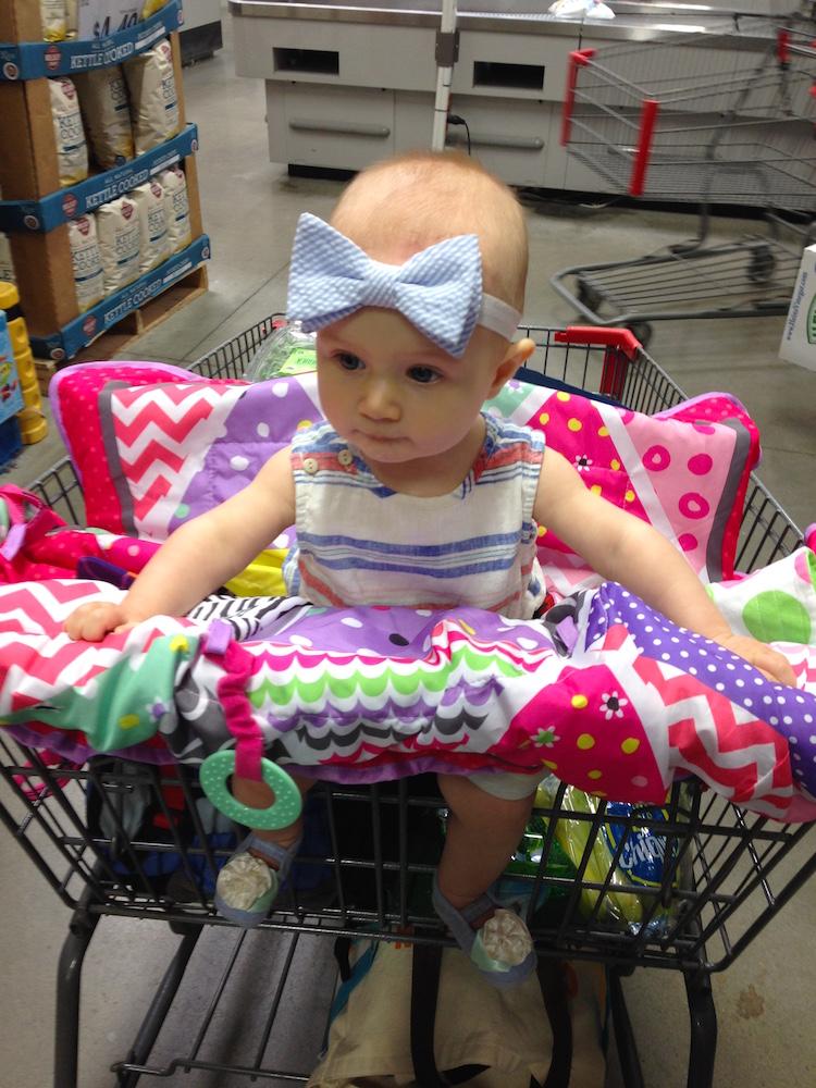 My grocery shopping helper.