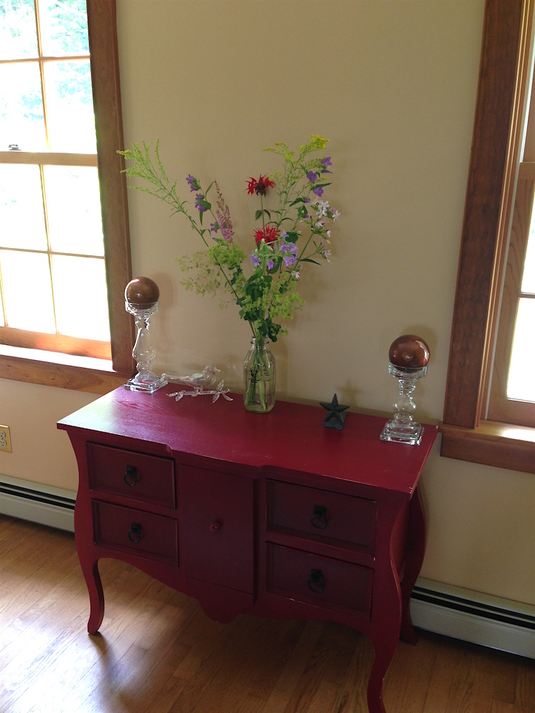 The red sideboard in question