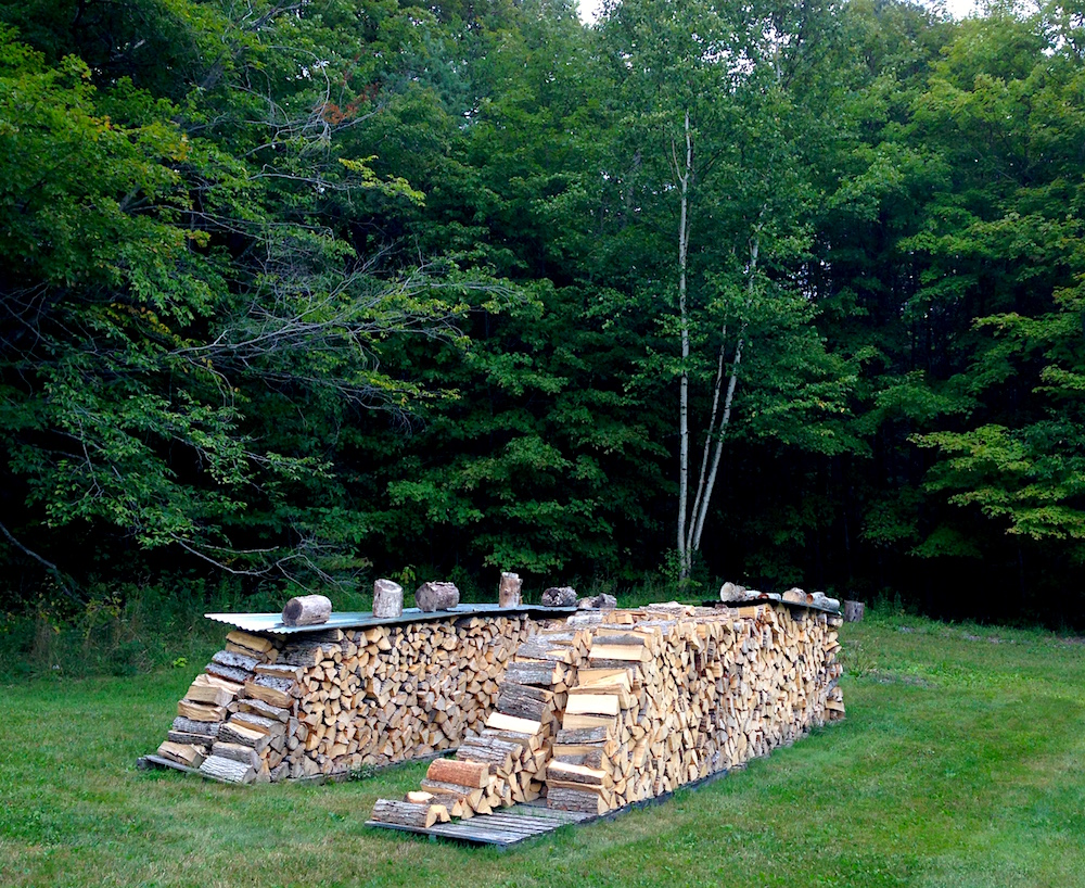 Our woodpile groweth...