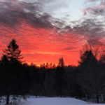 This Month On The Homestead: Sunrises, Community, and Ice