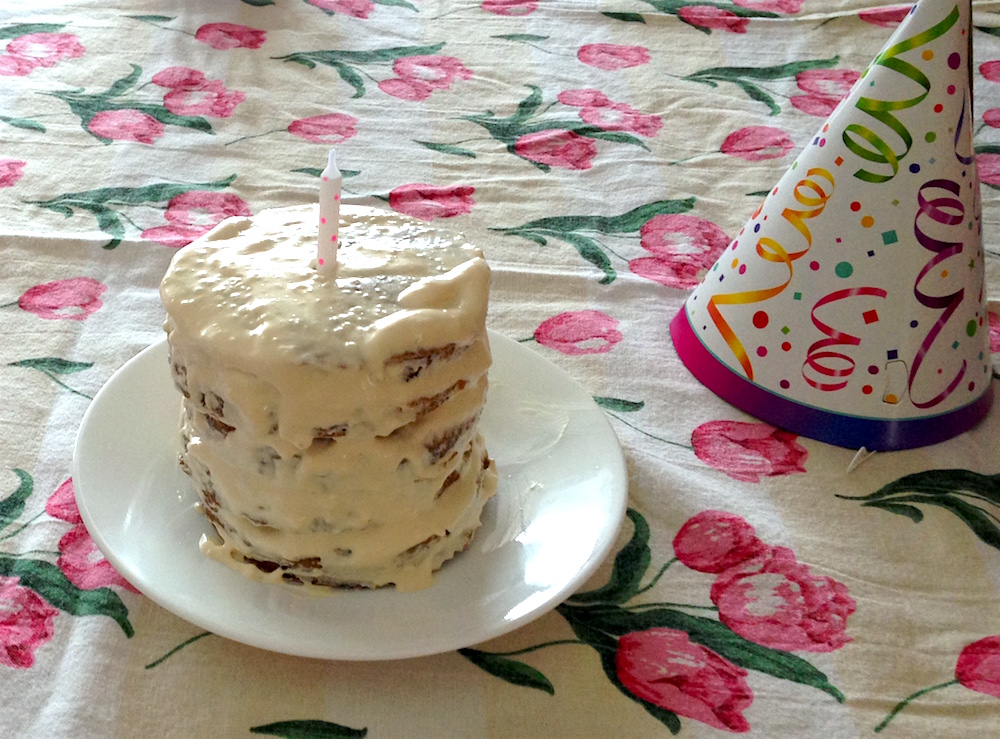 A Popeyes Chicken Birthday Cake Really This Could Have: Our Thrifty And Simple Baby's First Birthday Party